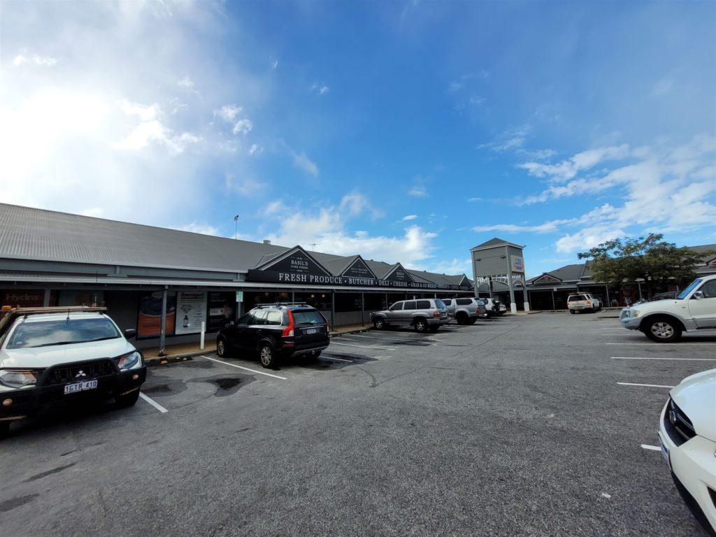 Car Park at Mindarie Keys Shopping Centre