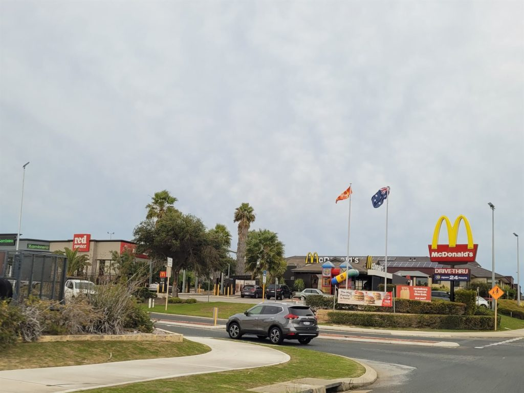 Maccas at Mindarie Central