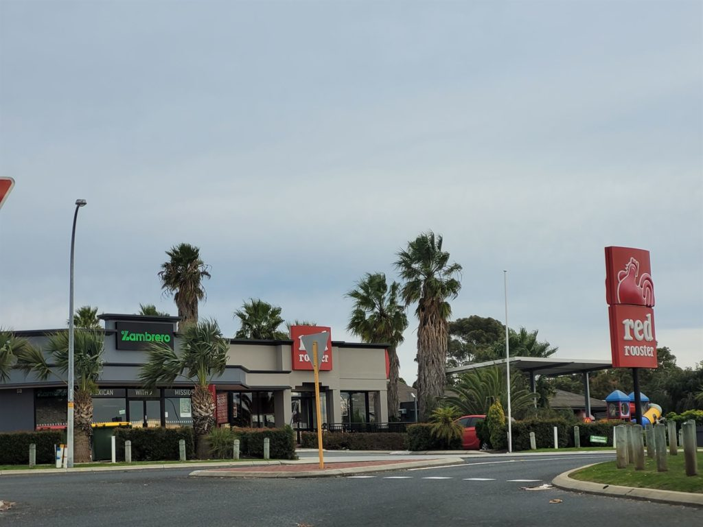 Red Rooster at Mindarie Central